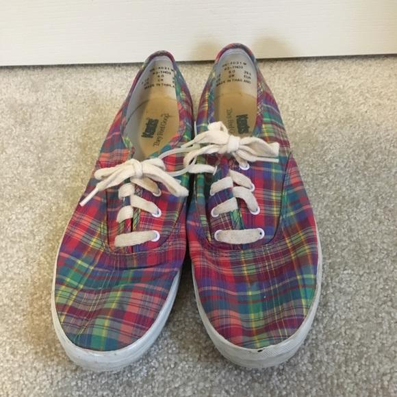 Keds Shoes   Plaid Keds   Poshmark